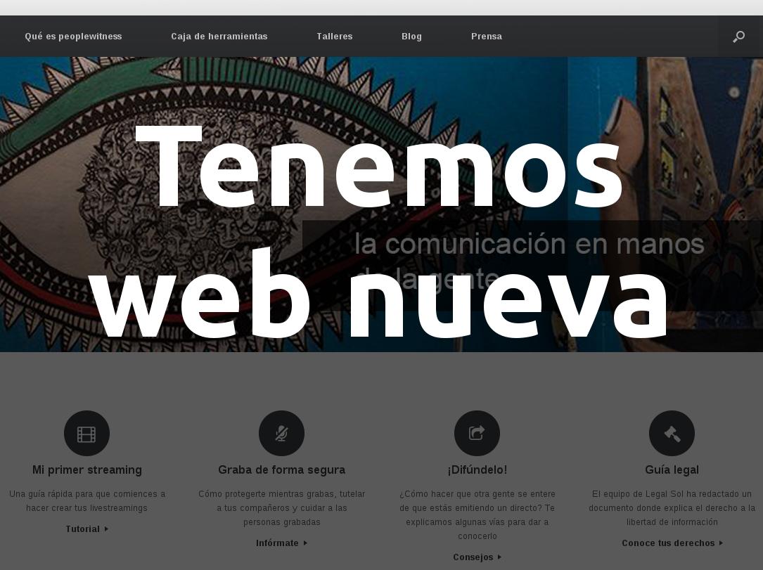 Tenemos web nueva